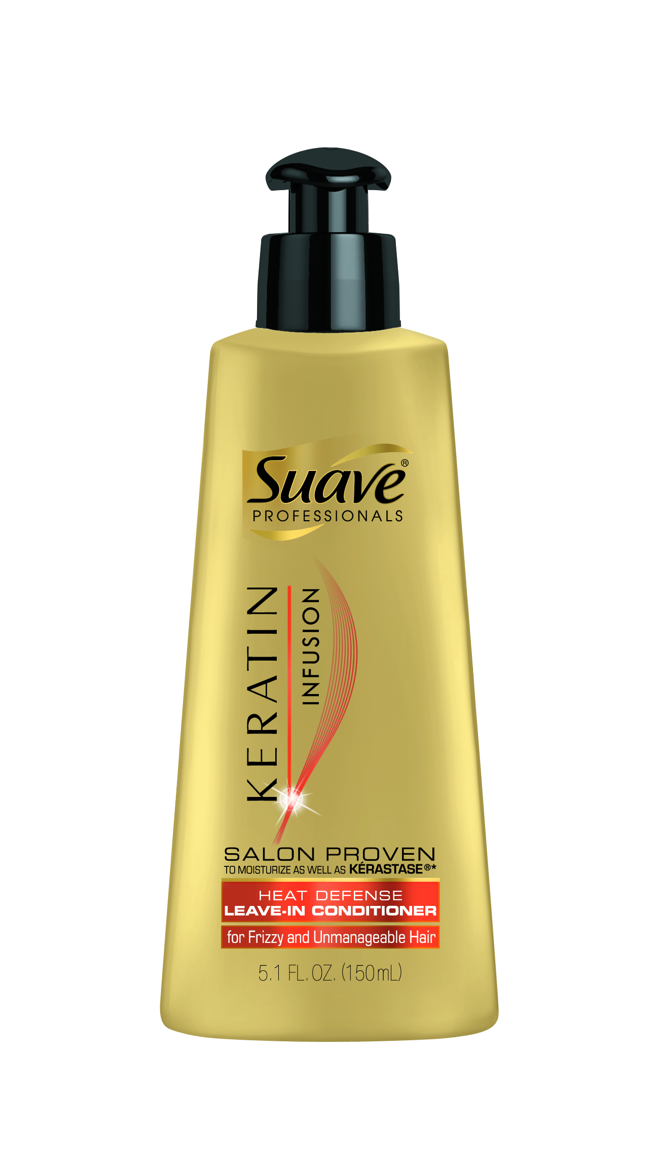 Suave® Professionals® Keratin Infusion Heat Defense Leave-In Conditioner