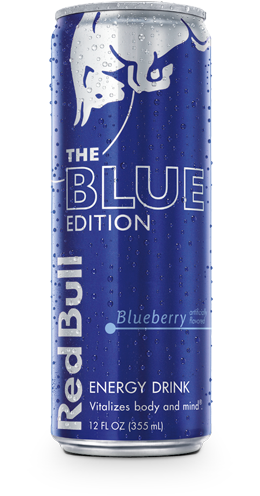 Red Bull Blue Edition Energy Drink