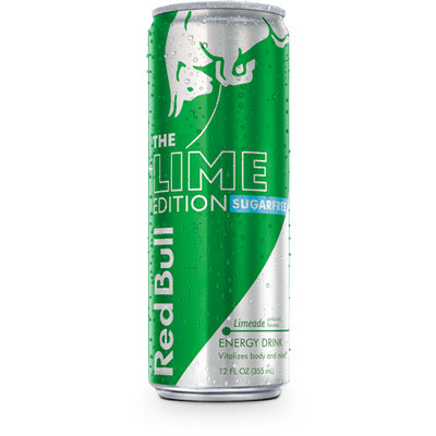 Red Bull Lime Edition Sugarfree Energy Drink