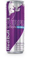 Red Bull Purple Edition Sugarfree Energy Drink