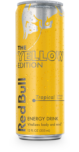 Red Bull Yellow Edition Energy Drink