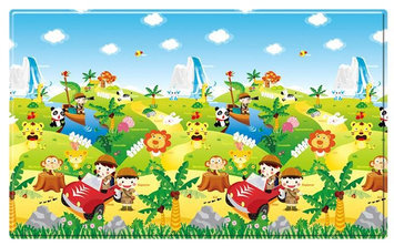 Dwinguler Kid's Playmat (Safari) - Large