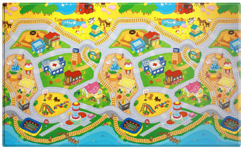 Dwinguler Kid's Playmat - My Town