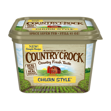 Country Crock Churn Style Spread, 45 oz.
