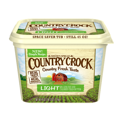 Country Crock Light Spread, 45 oz.