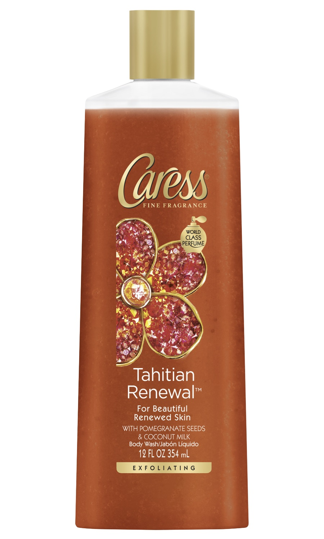 Caress® Tahitian Renewal Exfoliating Pomegranate Body Wash