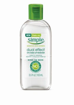 Simple® Skincare Dual Effect Make-up Remover