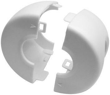 Parent Units No Knob! Door Knob Covers - White - 2 ct