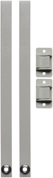 Parent Units Topple Stop Furniture Straps in White (Set of 2)