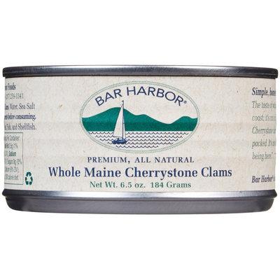 Bar Harbor Whole Maine Cherrystone Clams - 6.5 oz