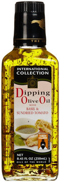 International Collection International Bread Dipping Olive Oil - Basil / Tomato - 6 Bottles (8.45 oz ea)