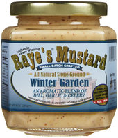 Raye's Winter Garden Classic Brown Mustard - 9 oz