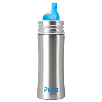 Pura Kiki Sippy Bottle XL Sipper - Natural - 11oz