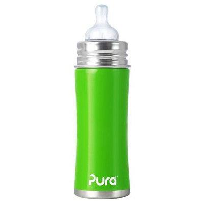 Pura Kiki Infant Bottle Natural Vent Nipple - Spring Green - 11oz