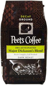 Peet's Coffee Ground Coffee - Major Dickason's Blend Decaf - 12 oz - 1 ct.
