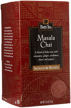 Peet's Coffee & Tea Peets Coffee and Tea 500322 Tea Bags Masala Chai 2.5 Oz 25/box