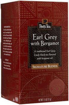 Peet's Coffee & Tea Peets Coffee and Tea 624501 Tea Bags Earl Grey 2.5 Oz 25/box