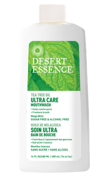 Desert Essence Ultra Care Mouthwash - Mega Mint