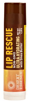 Desert Essence Lip Rescue Ultra Hydrating wih Shea Butter