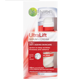 Garnier Skin Naturals UltraLift Complete Beauty Serum + Cream