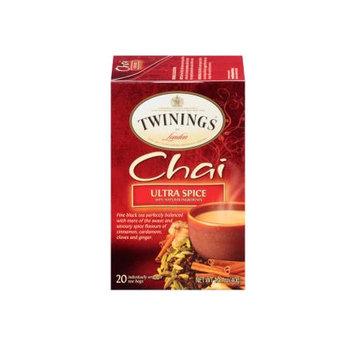 TWININGS® OF London Ultra Spice Chai Tea Bags