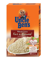 Uncle Ben's Whole Grain Fast & Natural Instant Brown Rice