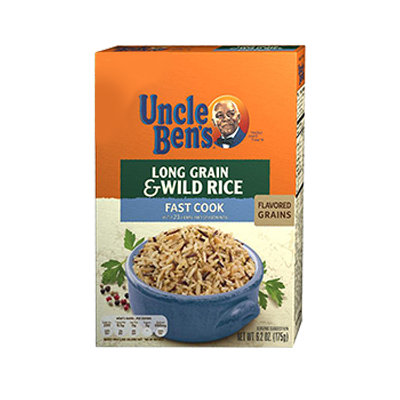Uncle Ben's Long Grain & Wild Rice Fast Cook