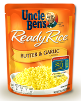 Uncle Ben's Ready Rice Butter and Garlic