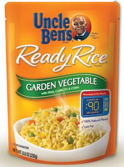 Uncle Ben's Ready Rice Garden Vegetable Rice