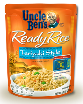 Uncle Ben's Ready Rice Teriyaki Style