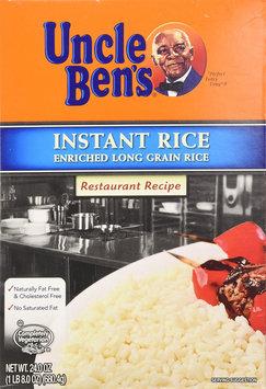 Uncle Ben's Restaurant Recipe Instant Rice
