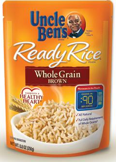 Uncle Ben's Whole Grain Brown Ready Rice
