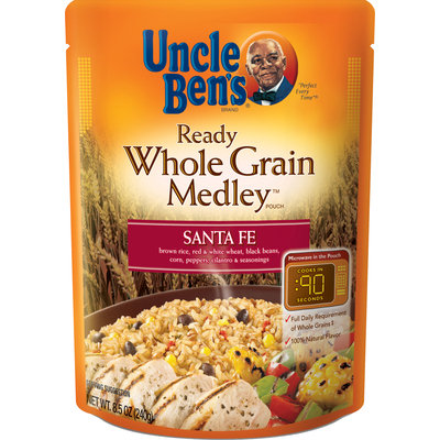 Uncle Ben's Whole Grain Medley Santa Fe Ready Rice