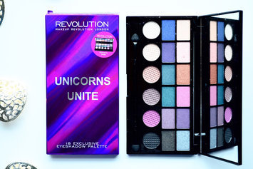 Makeup Revolution Unicorns Unite Salvation Eyeshadow Palette