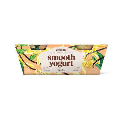 Chobani® Smooth Vanilla Low-Fat Classic Yogurt