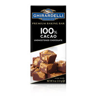 Ghirardelli Unsweetened Chocolate 100% Cacao Baking Bar