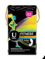 U by Kotex Fitness* Liners Regular