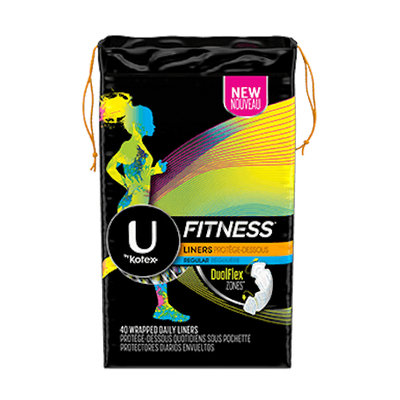 U by Kotex Fitness* Liners Regular