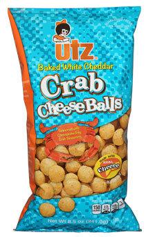 Utz Baked Cheddar Crab Cheese Balls