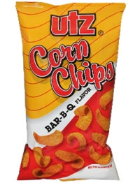 Utz BBQ Flavored Corn Chips