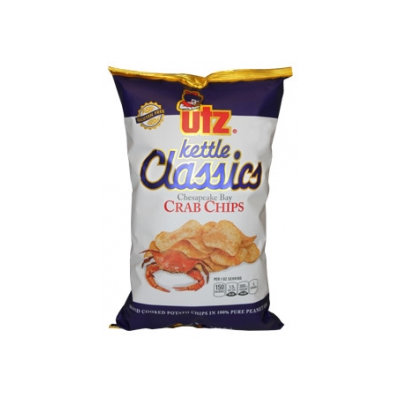 Utz Kettle Classics Crab Potato Chips