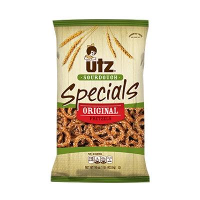 Utz Sourdough Specials Pretzels Original