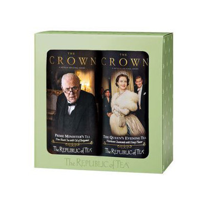 Republic Of Tea The Crown Two Tin Gift Set