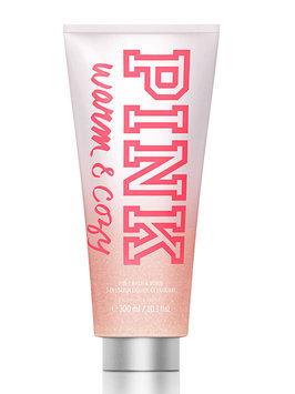 Pink Warm & Cozy 2-in-1 Wash & Scrub