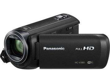 Panasonic HC-V380K Full HD Camcorder with Wi-Fi, 50x Stabilized Optical Zoom, Black
