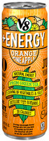 V8® +Energy Orange Pineapple Lightly Carbonated