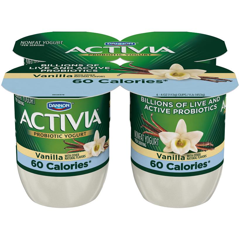 Activia Light Vanilla Probiotic Yogurt