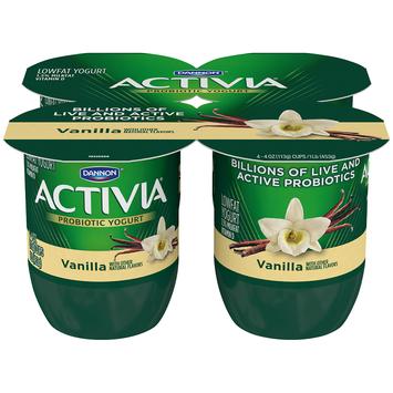 Activia®  Vanilla Probiotic Yogurt