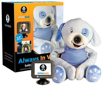 Infant Tech Automobile Baby Monitor - Puppy