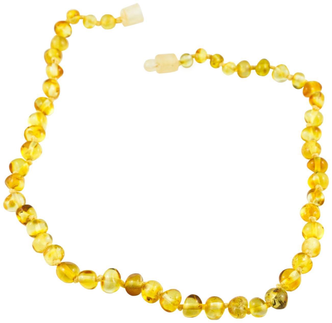 Healing Hazel 100% Baltic Amber Teething Necklace - Honey 11